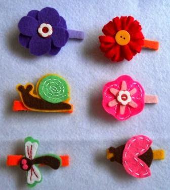 felt crafts, felt fabrics, felt flowers, felt