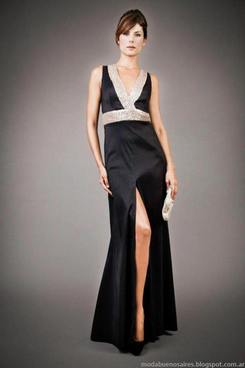 Vestidos largos invierno 2013 moda Veronica Far