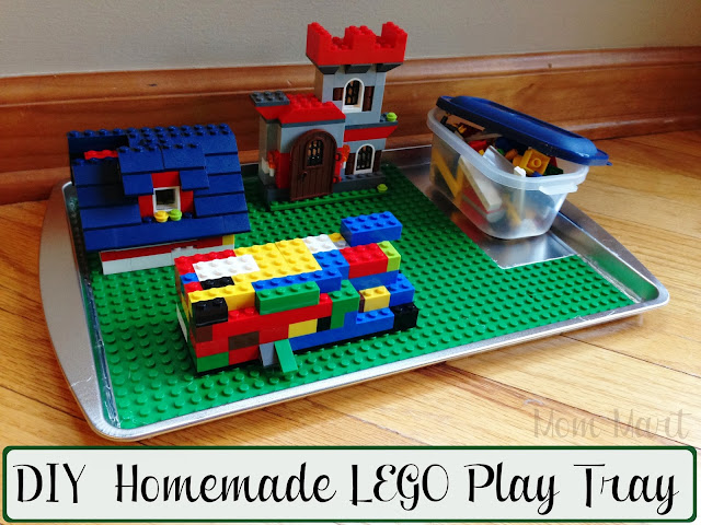 How to make your own LEGO Play Tray #DIY #CraftsForKids #Tutorial