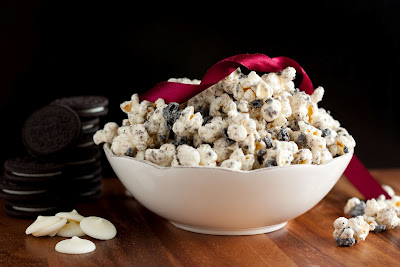 Cookies and Cream Popcorn recipes, food recipes