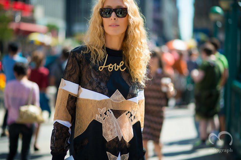 mitograph Elina Halimi Before Prabal Gurung New York Fashion Week 2014 Spring Summer NYFW Street Style Shimpei Mito