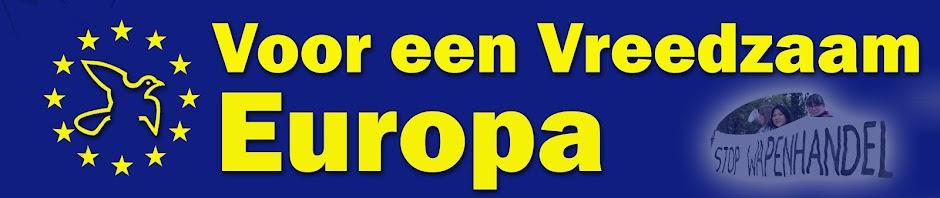 Voor een vreedzaam Europa