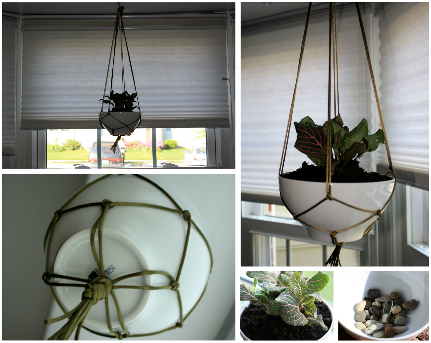 Simply DIY 2: DIY Hanging Plant Basket