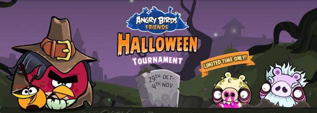 Juega Angry Birds versión Halloween desde Facebook