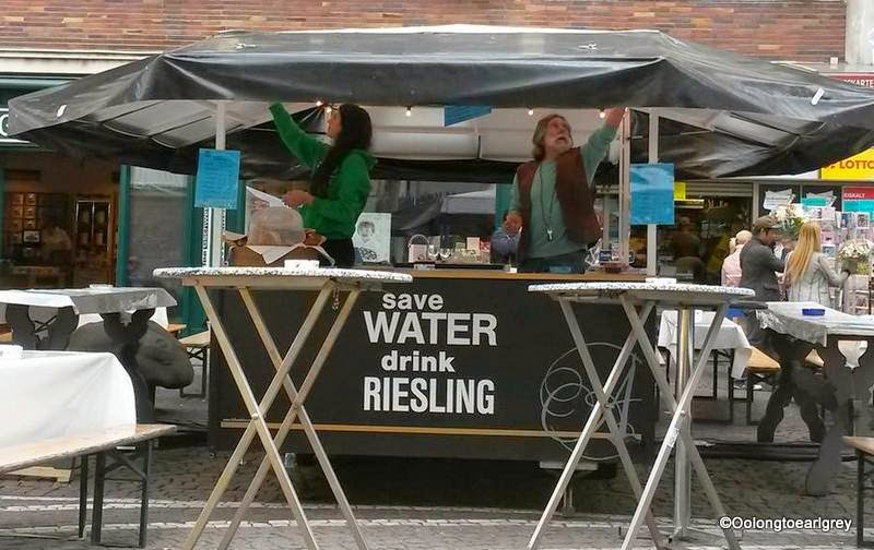 Save water, drink riesling!