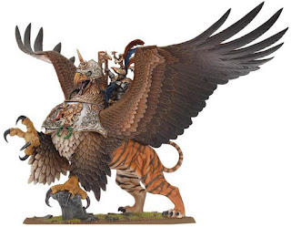 New Empire Emperor Miniature on Griffon