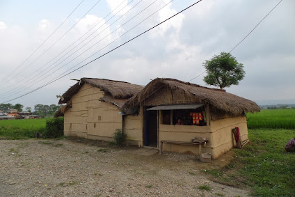 Chitwan Tharu köyü