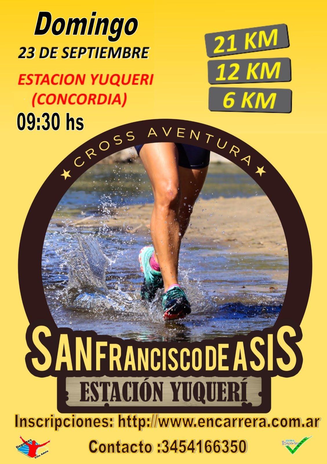 Cross Aventura San Francisco de Asis (Est.Yuqueri)