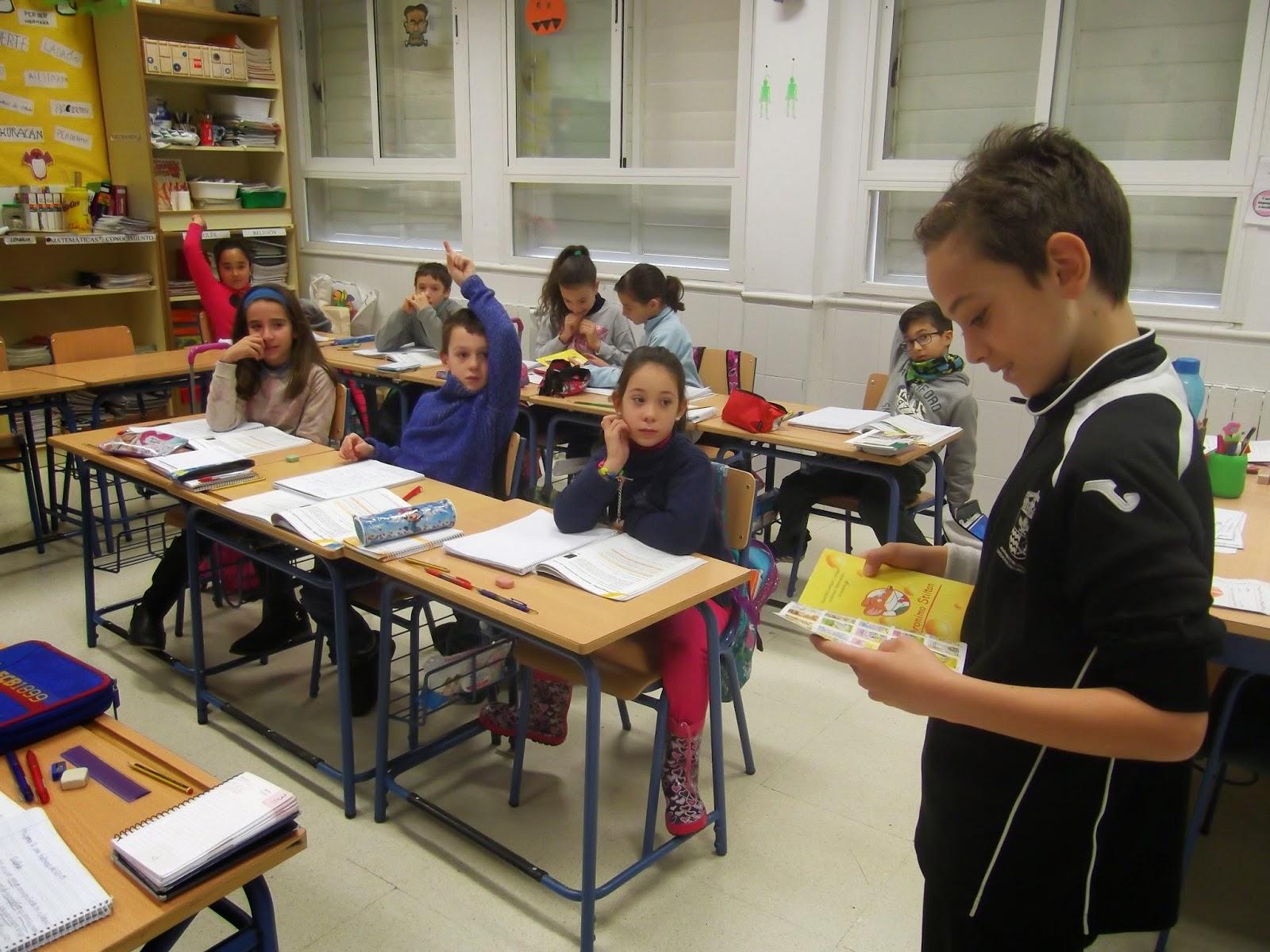 Cuarto de primaria curso 2014 2015 sergio nos recomienda for Cuarto primaria