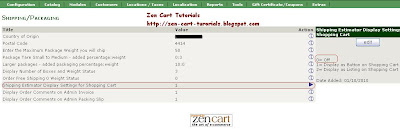 How to Turn Off Shipping Estimator Button in Zen Cart Admin