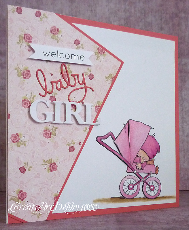 Scrapjourney: Pushchair Baby