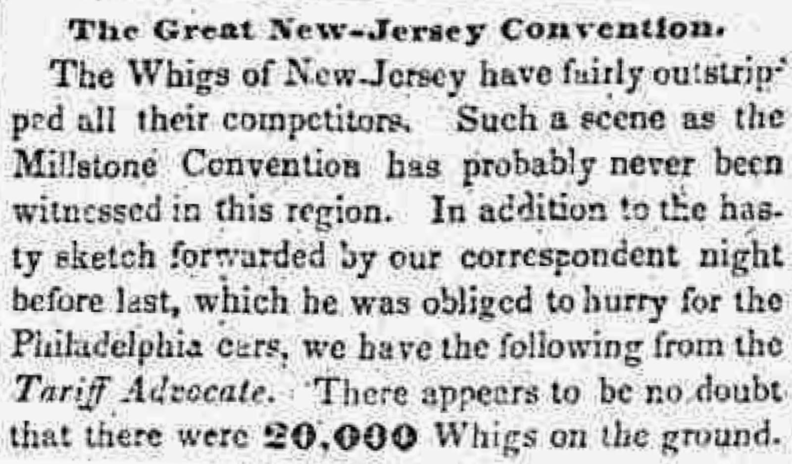 Alien face in box emoji meanings - New York Tribune August 9 1844