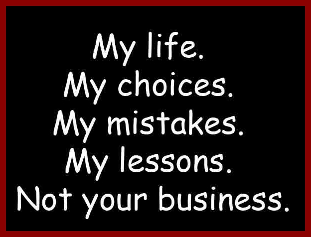 My Life My Rules My Attitude Quotes  www.pixshark.com - Images Galleries Wit...