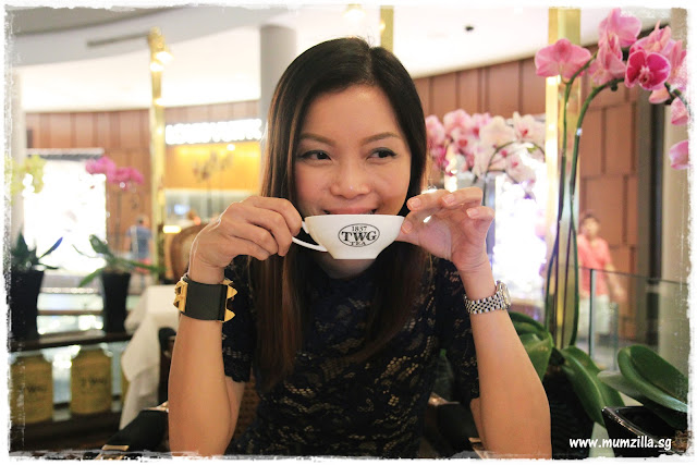 twg tea MBS singapore mom blogger veron zhen mumzilla