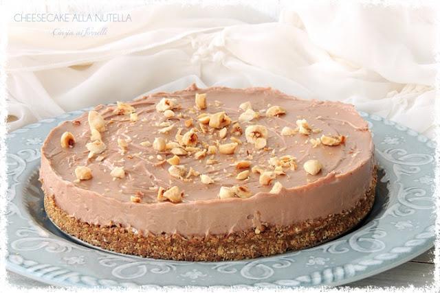 cheesecake alla nutella col bimby