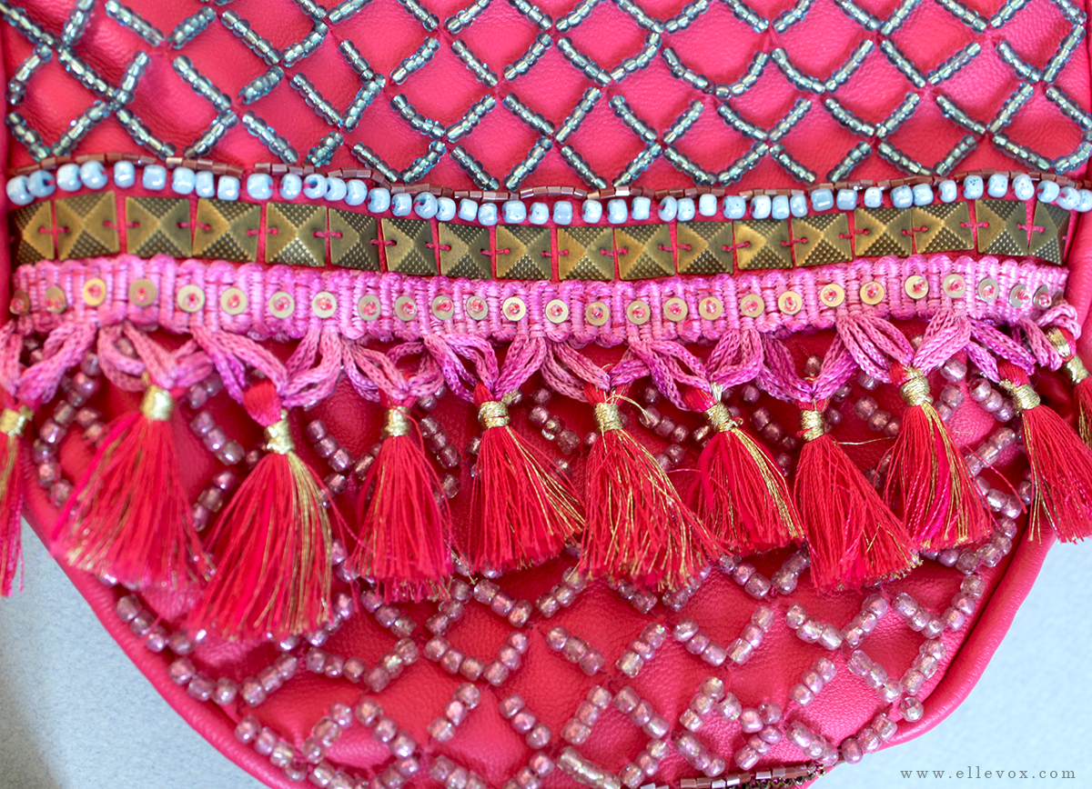 handmade embellished indian shoulder bag