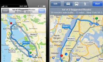 La aplicación de Google Maps podrá descargarse gratis en el nuevo iPhone,