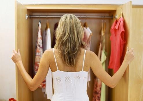 Organizar o closet