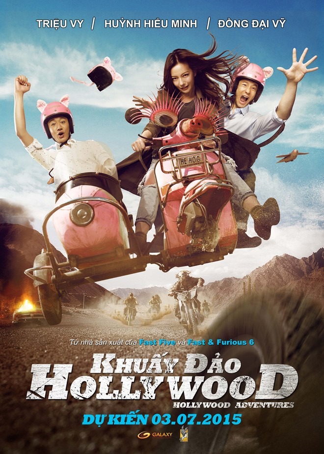 Khuấy Đảo Hollywood | Hollywood Adventures ...