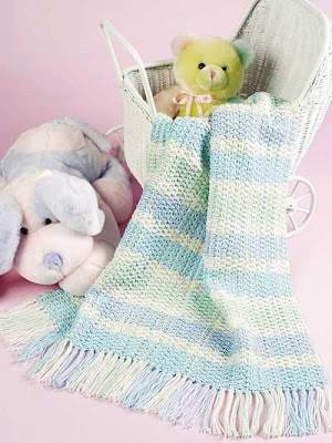 Cuddly Confections Baby Afghan