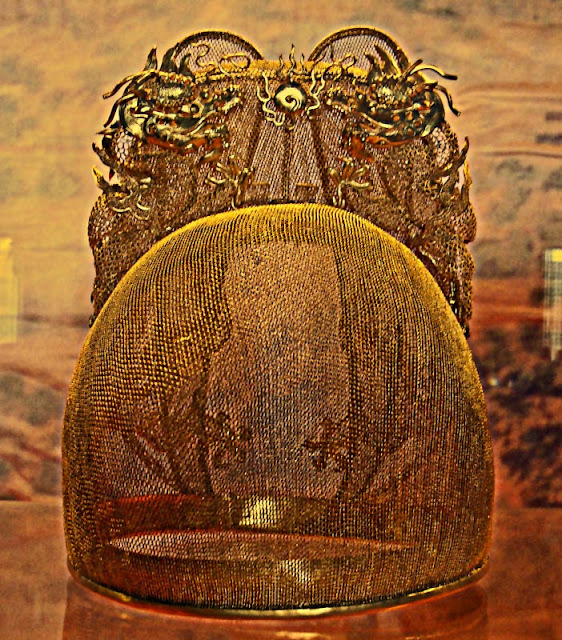 Chinese Emperor golden crown