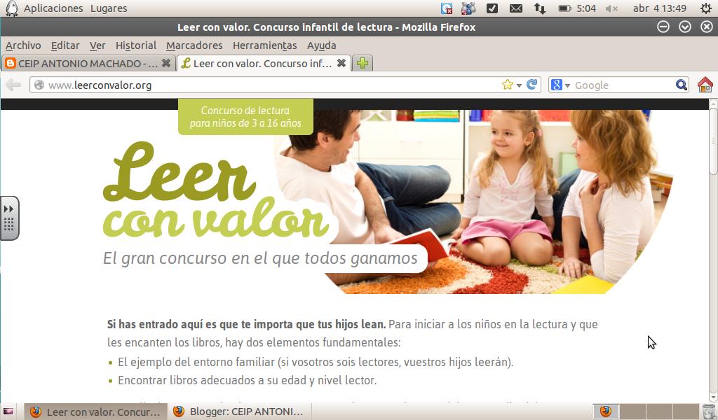 http://www.leerconvalor.org/