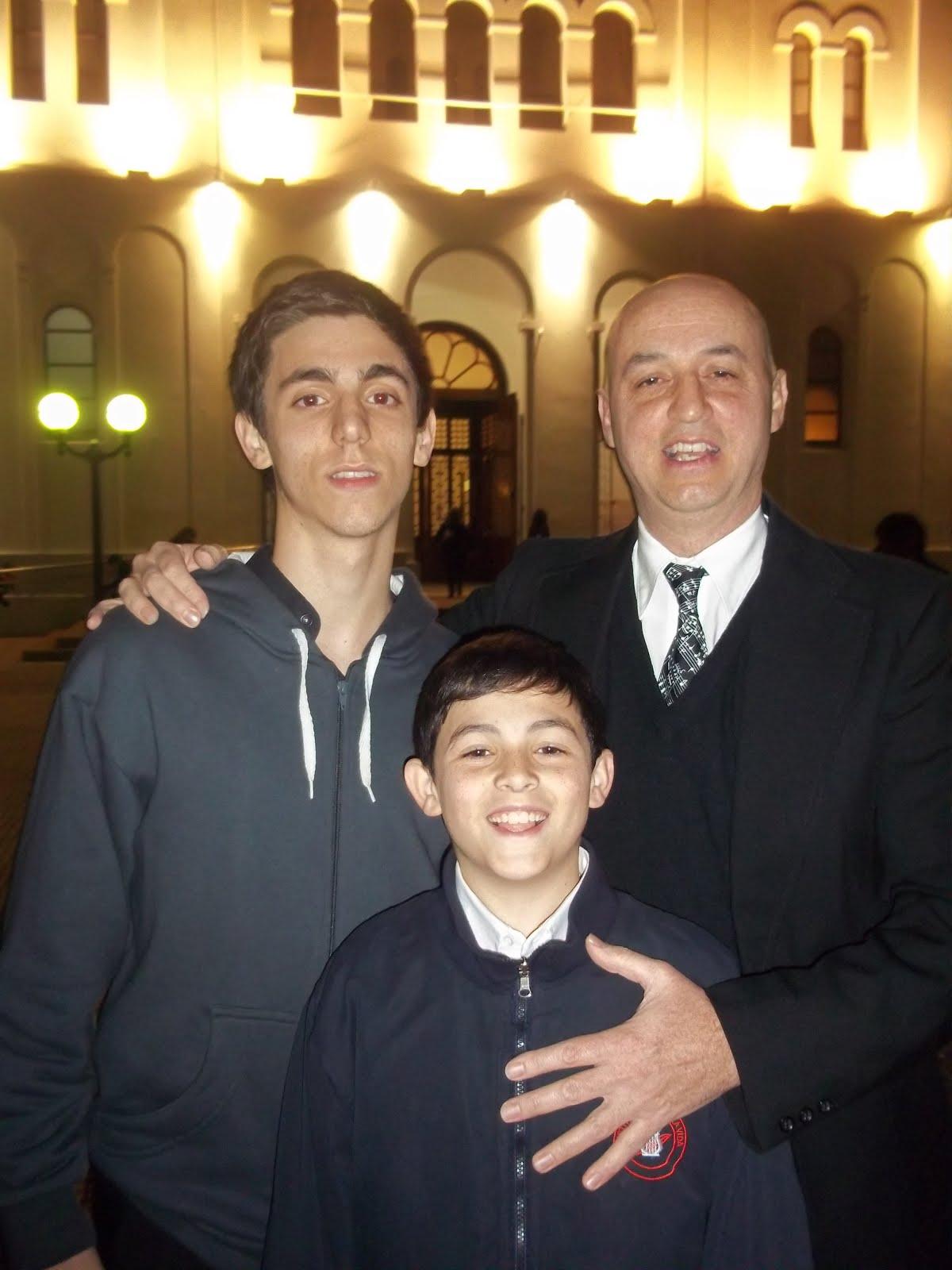 Sergio, Franco y Lucas Baldassini