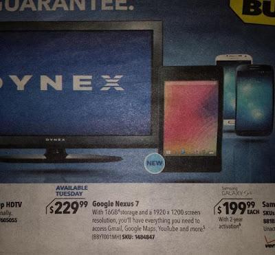 Todos los rumores apuntan a que la Nexus 7 II estará disponible en Google Play Store el mismo día de su presentación, osea el 24 de Julio, y llegará a las tiendas mayoristas y minoristas autorizadas a partir del 31 de Julio próximo. Lo que se sabe de la segunda generación de la Nexus 7, es que vendrá con Android 4.3 Jelly Bean, pantalla Full HD de 7 pulgadas con una resolución de 1920×1200 píxeles, procesador de 4 núcleos, 2GB de memoria RAM, cámara trasera y modelos de 16GB y 32GB de almacenamiento interno sin posibilidad de usar tarjetas microSD