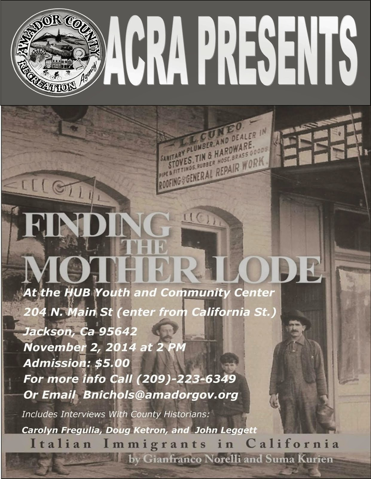 Finding the Mother Lode - Nov 2