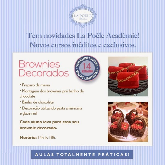 Curso Inédito - Brownie Decorado