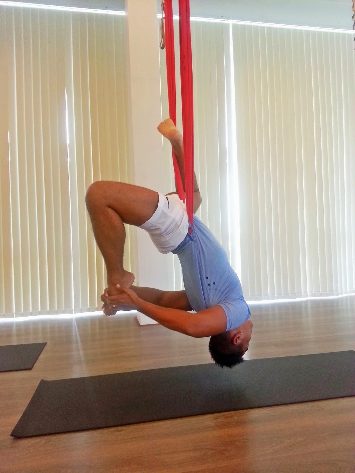 Anti Gravity Yoga: We Did It