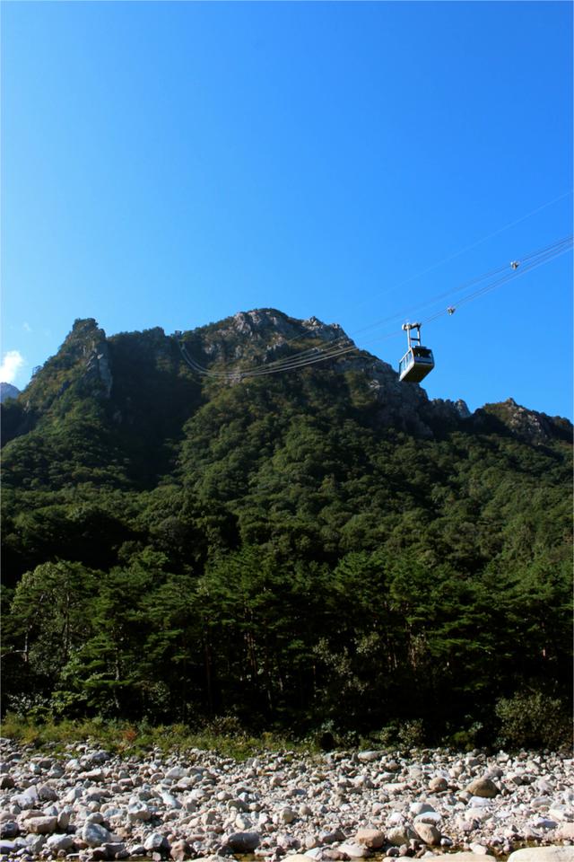 cable car seoraksan national park