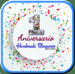 1° Aniversario Handmade blogueros