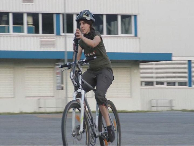 Bicicleta exercita o corpo todo