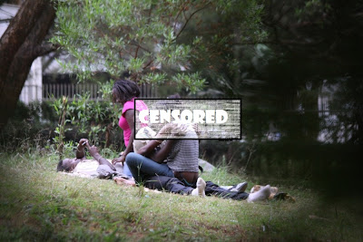 DAILY POST: PHOTOS! LOVERS doing this in public at Nairobi's