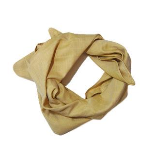 bio français lange bavoir bandana foulard moutarde jaune