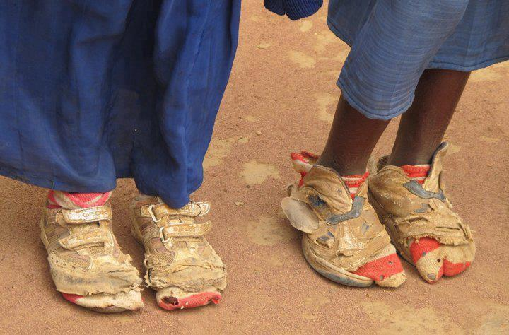 Kids In Africa Without Shoes