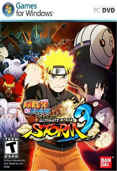 Naruto Shippuden Ultimate Ninja Storm 3 PC Game ISO ...