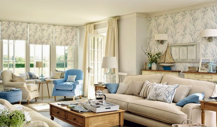Vicky 39 s home colecci n casual country de laura ashley for Salon laura ashley