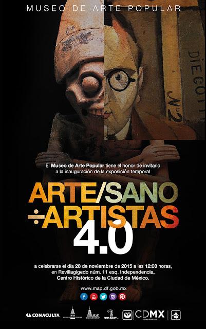 Bienal 4.0 ARTE/SANO÷Artistas del Museo de Arte Popular