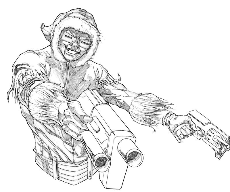 captain-cold-dual-gun-coloring-pages