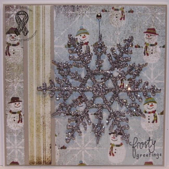 Sparkly Snowflakes... #KindnessChallenge