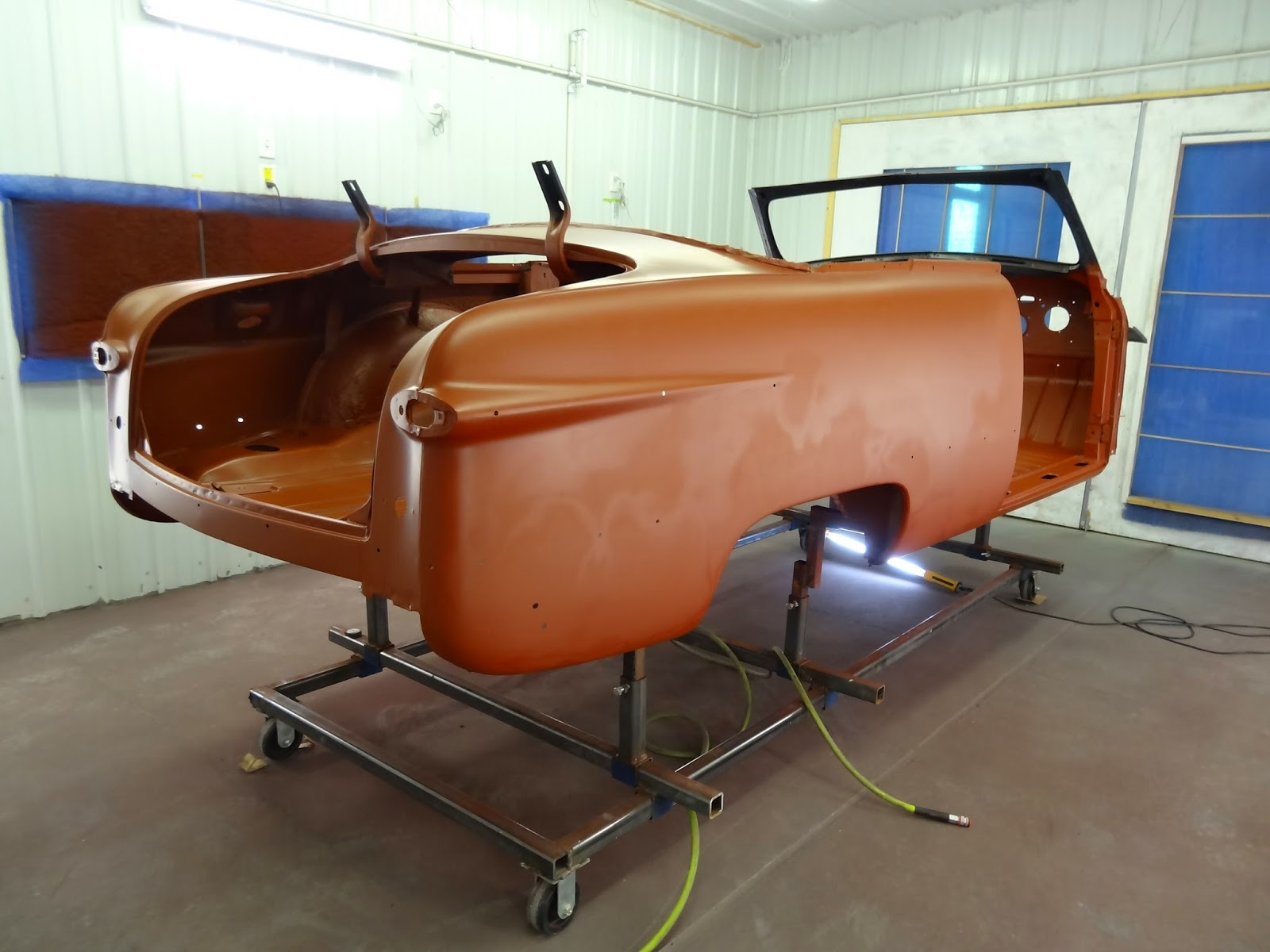 1951 Ford Custom Convertible Epoxy Primer