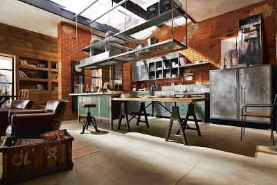 Cuisine style loft