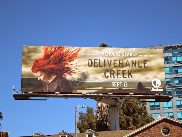 Deliverance Creek TV billboard