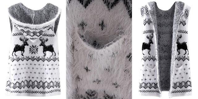 propozycje zimowych świątecznych ubrań