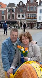 Henk & Mai-Britt i Delft.