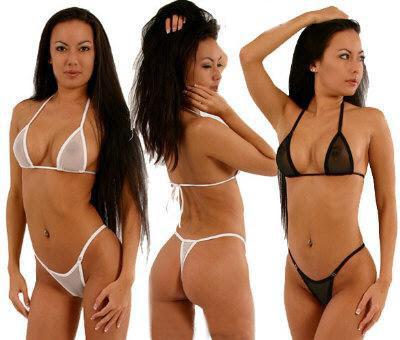 Mesh Micro Bikini