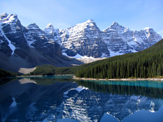 Un Lago Espejo salido de cuentos de hadas