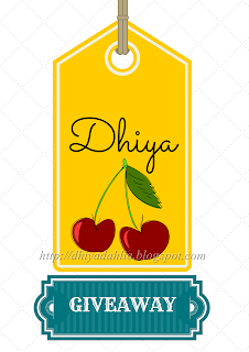 http://dhiyadahlia.blogspot.com/2014/08/dhiyas-first-giveaway.html